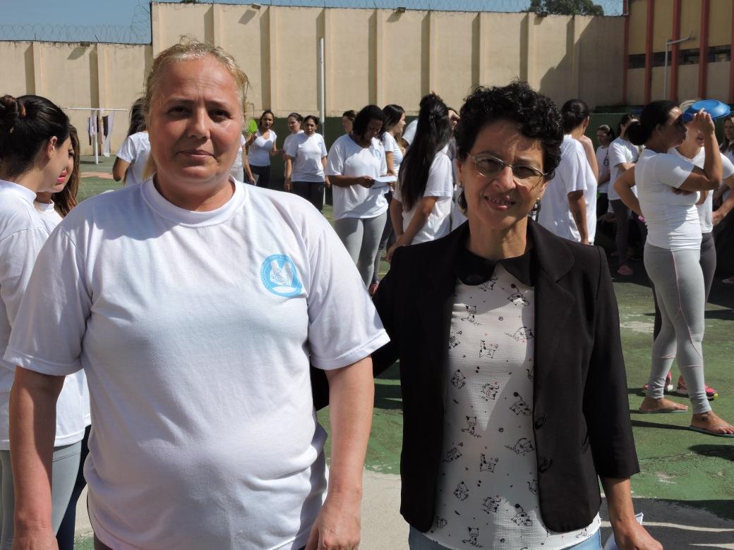 Elisabete Subtil de Oliveira, coordenadora administrativa do Conselho, na festa da PFP
